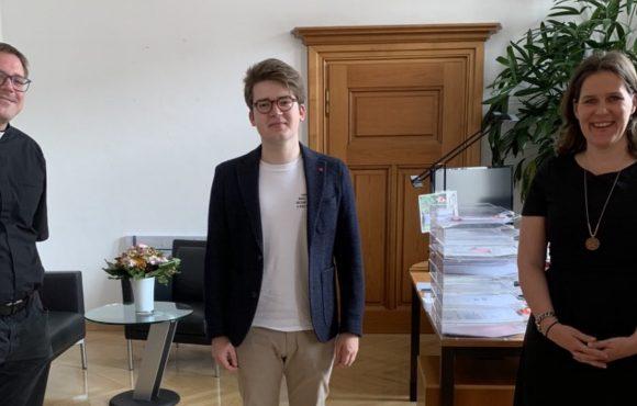 Treffen mit Bürgermeisterin Verena Dietl
